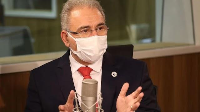 Covid: Queiroga diz que Brasil terá 354 milhões de doses disponíveis para 2022