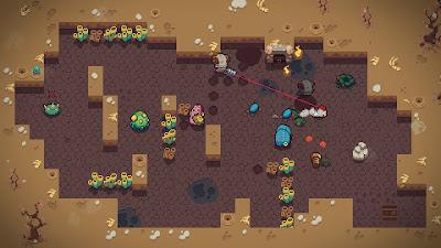 Blazing Beaks Video Game Screenshot