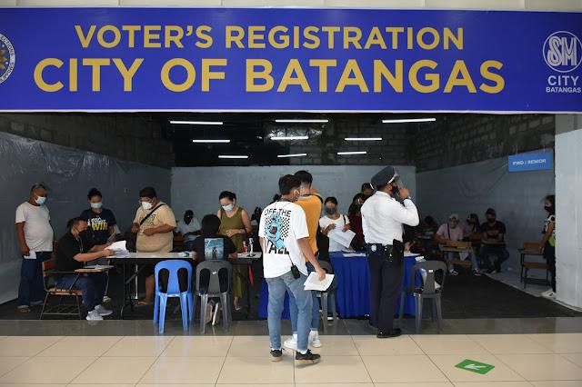 COMELEC extends voter registration in SM City Batangas