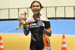 Jakarta Juara Umum Cabor Sepatu Roda PON XX Papua