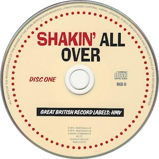 RHGB 40 VA - Shakin' All Over Great British Record Labels:HMV