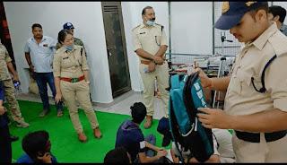 निर्भीक होकर कोचिंग क्लासेस में पड़े बेटियां, उनकी निगरानी ओर सुरक्षा करेगी निर्भया की टीम - डीएसपी पूनम थापा