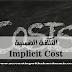 التكلفة الضمنية (Implicit Cost)