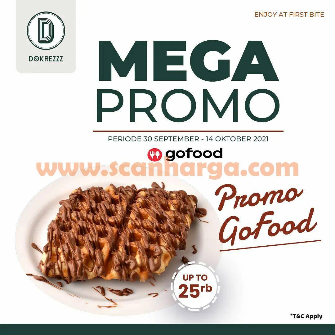 DOKREZZZ Mega Promo GOFOOD – Up to Rp 25.000