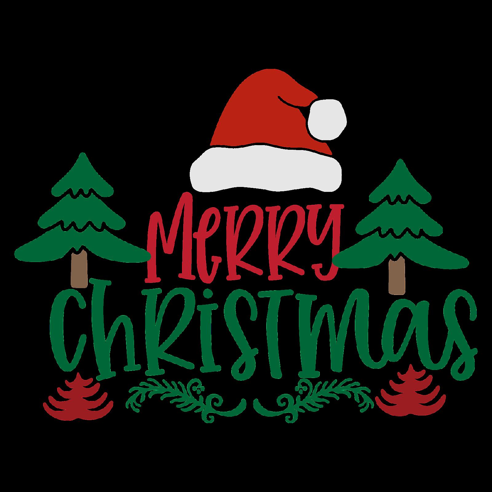 Free Merry Christmas SVG Cut Files