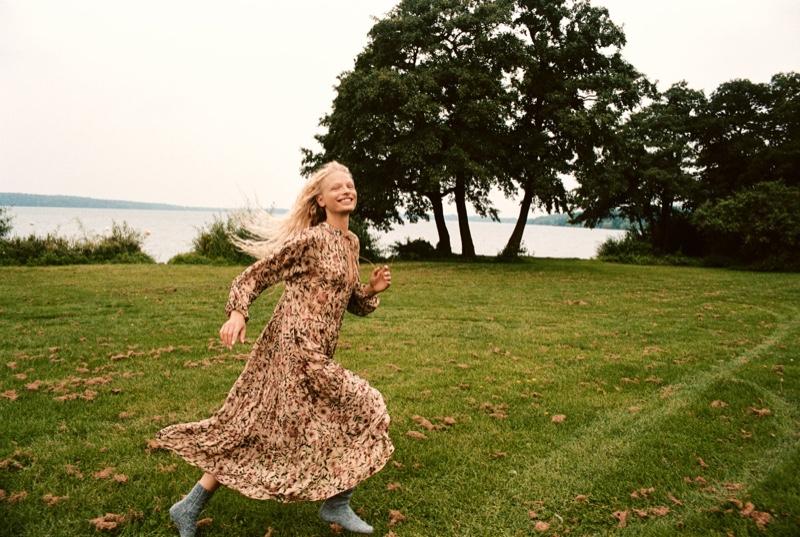 Zara releases A Wild Run fall 2021 trend guide.