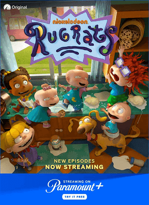 Stream new episodes of Rugrats on Paramount Plus