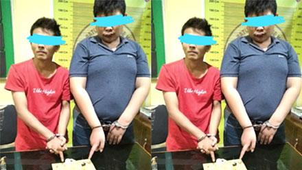 Dua Pemuda Salido Ditangkap Tim Opsnal Sapu Jagat Satuan Narkoba Polres Pessel