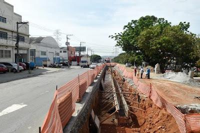 Com 95% de obras prontas, Corredor de Ônibus Santos Dumont será entregue até dezembro