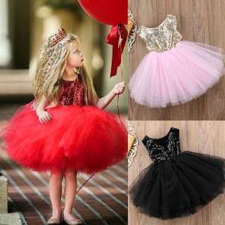 Ma&Baby Princess Kids Baby Dress