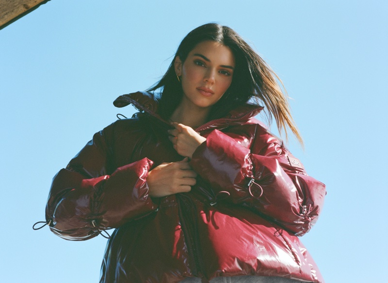 Kendall Jenner stars in Alo jackets & coats campaign.