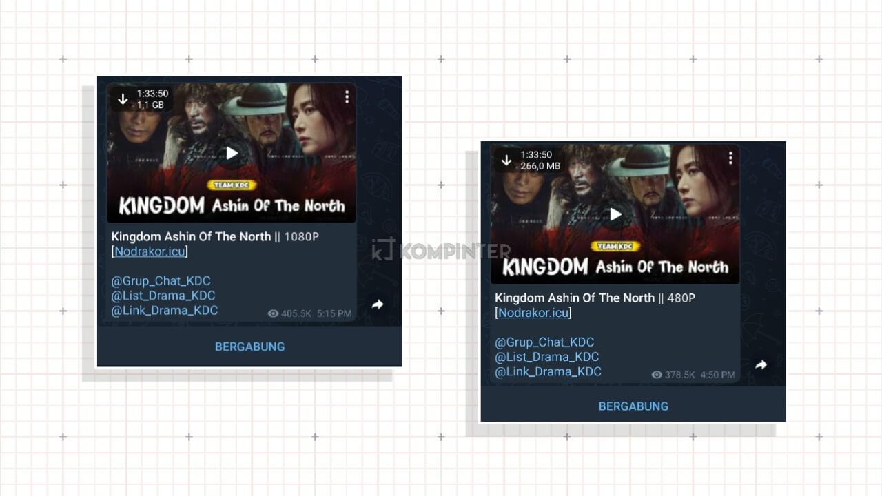 Download Film di Telegram Gratis