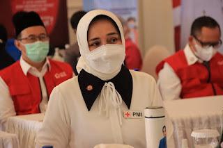 PMI Lampung Akhiri Laporan 48 Ribu Vaksinasinya ke Jusuf Kalla Pakai Pantun Wisata Kopi
