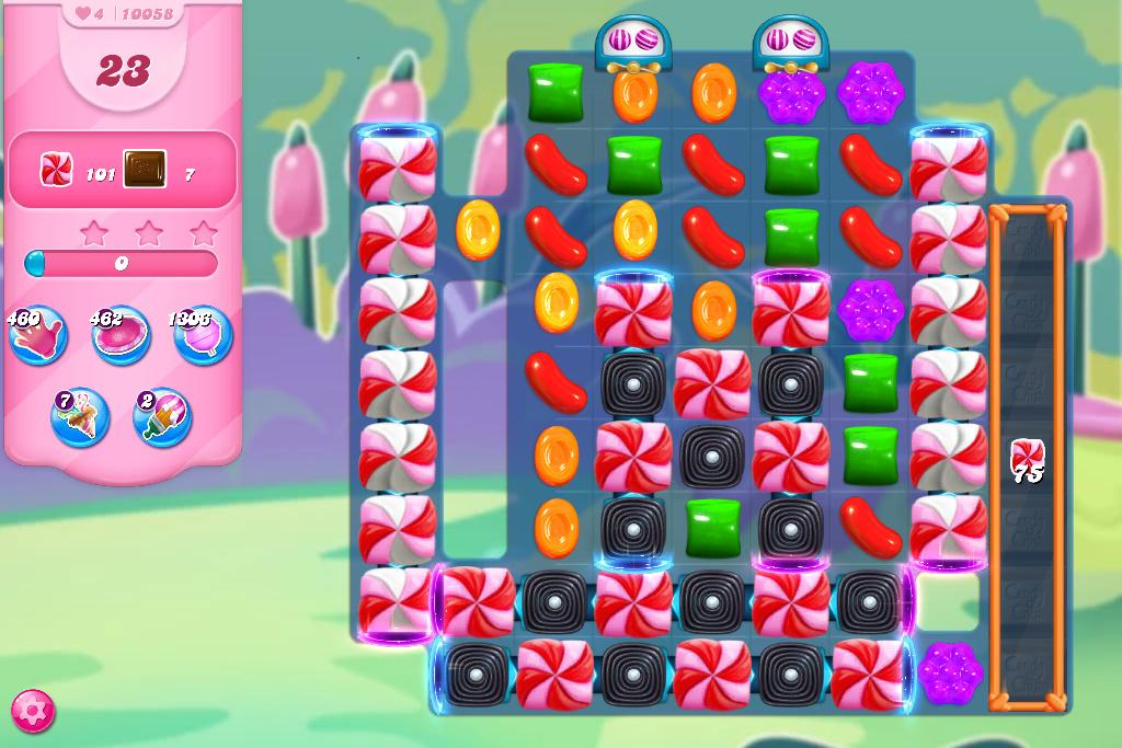 Candy Crush Saga level 10058