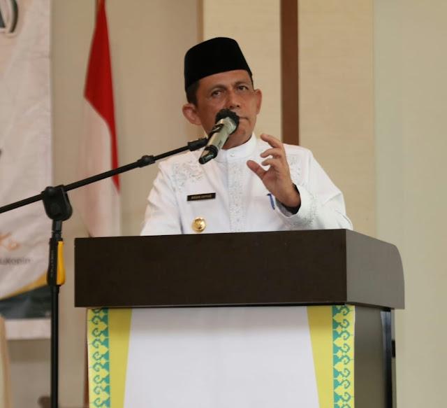 Gubernur Kepri : Rakorda Merupakan Upaya Meningkatkan Kualitas Para Amil Zakat dalam Mengelola Zakat