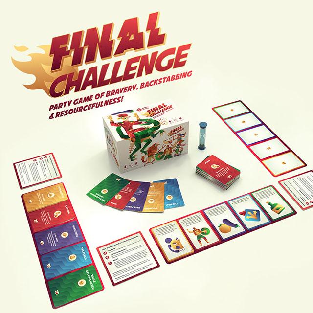Final Challenge is coming to Kickstarter Soon!