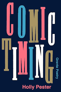 """Comic Timing written in an """"up and down"""" line and multicolours"""