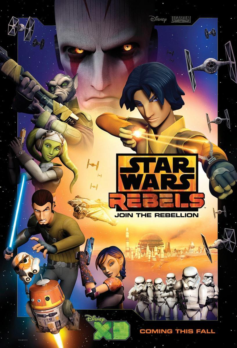 Star Wars: Rebels Serie Completa 720p Latino-Ingles