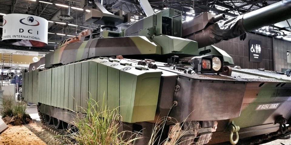 Модернізовані танки Leclerc XLR