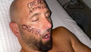 Picture of Christine Bui Allegra's hubby Karl Anderson