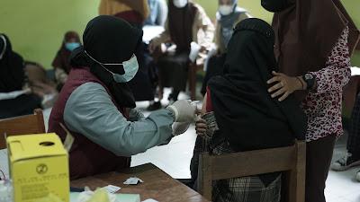 """SMK Patriot Pituruh Kembali Gelar Vaksinasi Dosis Kedua Dengan """"Sinovac"""""""