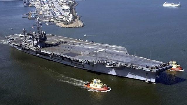 Dua Kapal Induk Amerika Dijual Dengan Harga 1 Sen