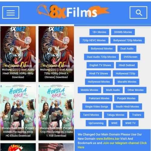 8xfilms | 8x films | 8xfilms me Watch Latest Bollywood, Hollywood Movies and WEB Series Online Free