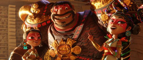 Maya e os 3 Guerreiros - conheça mais sobre os três guerreiros em novo vídeo