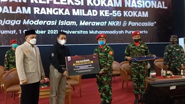 UMP Tebar Manfaat, Kokam Indonesia Mendapat Beasiswa