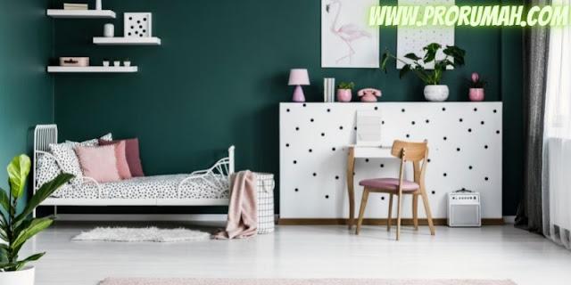 desain kamar anak cewek - nuansa alam