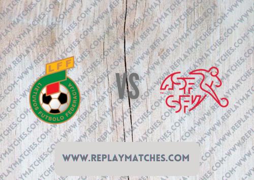 Lithuania vs Switzerland Highlights 12 October 2021
