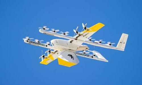 Google tests drone shipments from the rooftops of shopping malls