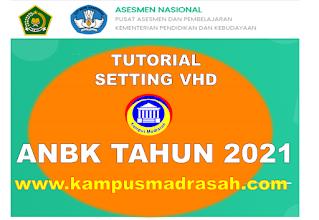 Tutorial Setting VHD ANBK