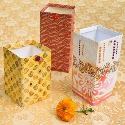 Sparkly Paper Lanterns Craft
