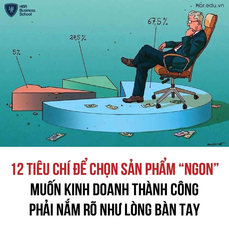 """12 TIÊU CHÍ LỰA CHỌN SẢN PHẨM """"NGON"""" ĐỂ KINH DOANH THÀNH CÔNG"""