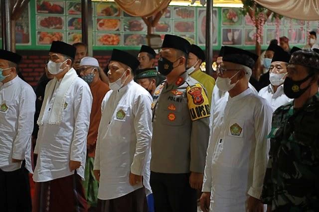 Kapolres Hadiri Pembukaan Peringatan Hari Santri Nasional Tingkat Kota Tasikmalaya dan Halaqoh Kepesantrenan