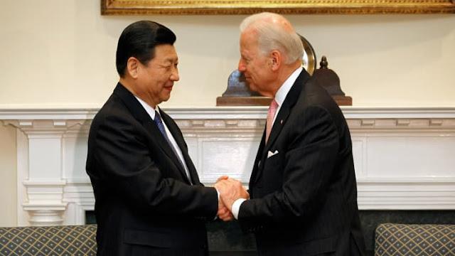 Joe Biden và nhà lãnh đạo Trung Quốc Tập Cận Bình